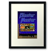 Blaster Master Framed Print