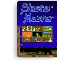 Blaster Master Canvas Print