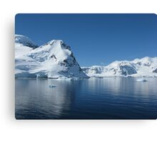 Antarctic Reflection Canvas Print