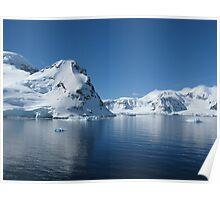 Antarctic Reflection Poster