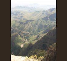 a colourful Lesotho landscape Unisex T-Shirt