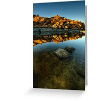 Glow with Rock Greeting Card