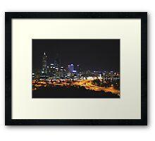 Perth, Western Australia Framed Print
