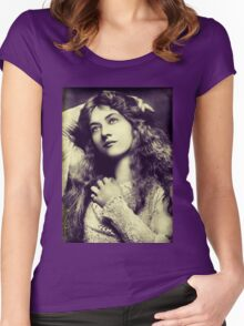 Silent Movie Women's Fitted Scoop T-Shirt