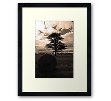 cursed with loneliness Framed Print