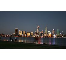 A Warm Summers Night - Perth, Western Australia Photographic Print
