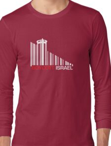 Boycott Israel NEG (wall version) Long Sleeve T-Shirt