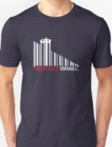 Boycott Israel NEG (wall version) T-Shirt