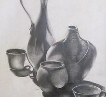 Vases by Sarah McNulty