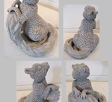 Squirrel Statue by Sarah McNulty