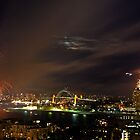 Sydney on New Year's eve II by Sundar Singh