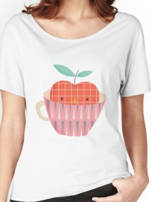 apple in a cup Women's Relaxed Fit T-Shirt