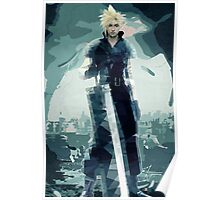 Cloud FF7 Poster