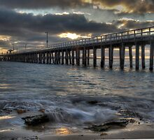 Point Lonsdale Pier by Emma  Smith