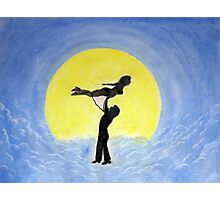 Swayze to the Moon Photographic Print