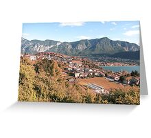 Small town in Italy Greeting Card