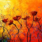 The Poppy Universe by Abstract D&#x27;Oyley