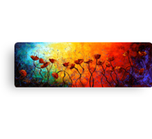The Poppy Universe Canvas Print