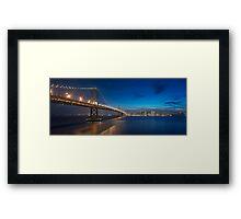 San Francisco Skyline at Dusk Framed Print