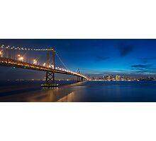 San Francisco Skyline at Dusk Photographic Print