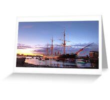 HMS Warrior 1860 Greeting Card