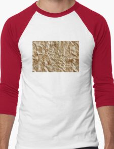 Paper texture Men's Baseball ¾ T-Shirt