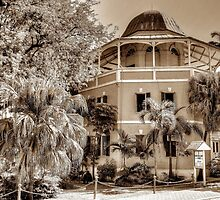 Public Library on Shirley Street in Nassau, The Bahamas by Jeremy Lavender Photography