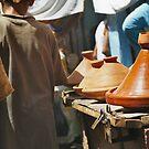 Market Hustle - Marrakech by citrineblue