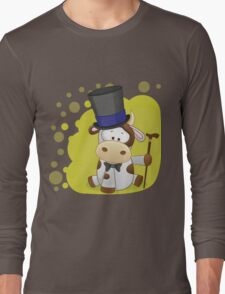 Little calf gentleman Long Sleeve T-Shirt