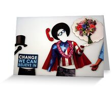 """""""I have a dream"""" - (Magnet) Greeting Card"""