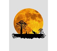 Outback Moonrise Photographic Print