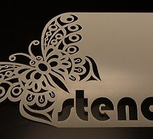 Stencil Your Walls Through Custom Stencils  by eliana11