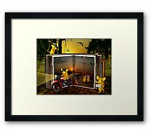 We are waiting for you Framed Print