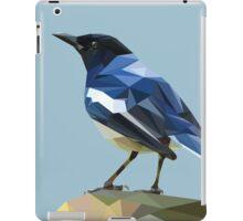 Blocky Blue Bird iPad Case/Skin