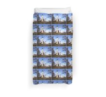 The Light at Presque Isle - Erie, PA Duvet Cover