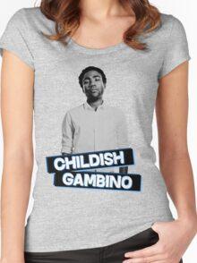 Childish Gambino #4 Women's Fitted Scoop T-Shirt
