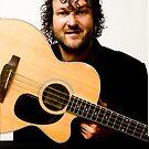 Self-Portrait - Me.... the musician's face by Mark Elshout
