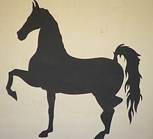 Silhouette Horse by ScenerybyDesign