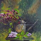 Old watering can by lizzyforrester