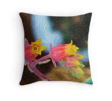 succulant love Throw Pillow