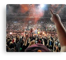 Kirk & the zombies Canvas Print