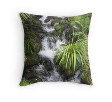 Waterfall Serenity Throw Pillow
