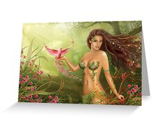 Paradise bird Greeting Card