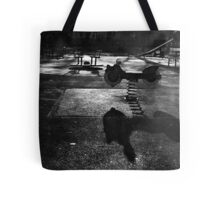 Playground in The Winter Sun Tote Bag