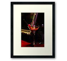 Midnight Cocktail Framed Print