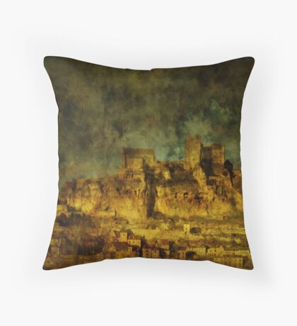 Chateau de Beynac Throw Pillow