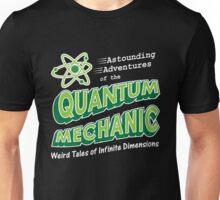 Geeky Comic Book Style Quantum Mechanics Theory Unisex T-Shirt