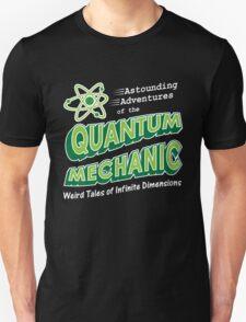 Geeky Comic Book Style Quantum Mechanics Theory T-Shirt