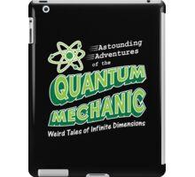 Geeky Comic Book Style Quantum Mechanics Theory iPad Case/Skin