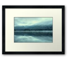 Mist on Coniston Water Framed Print